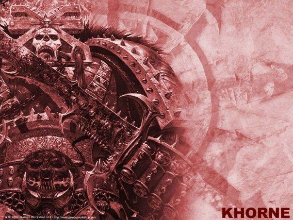 Красивые картинки Арт Warhammer 40K Chaos Хаос Khorne Кхорн