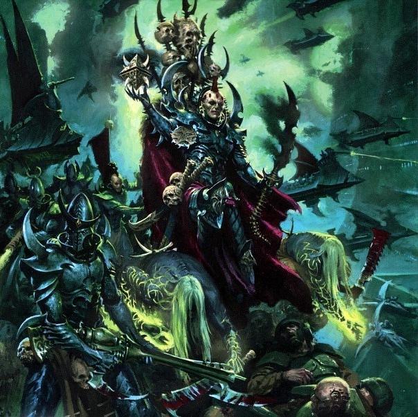 Красивые картинки Арт Warhammer 40K dark eldar