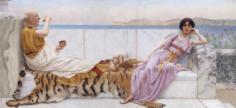 Красивые картинки Живопись Джон Уильям Горвард скука