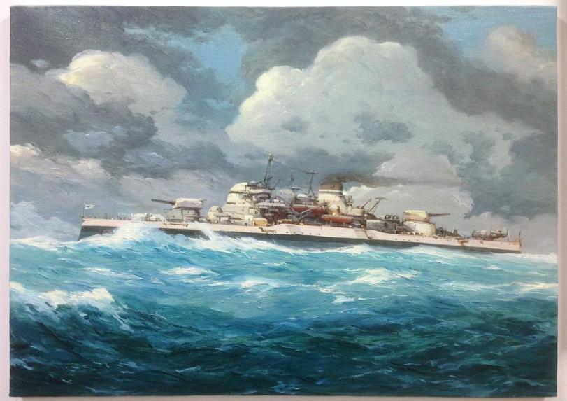 Красивые картинки Арт Корабль Стимпанк броненосец