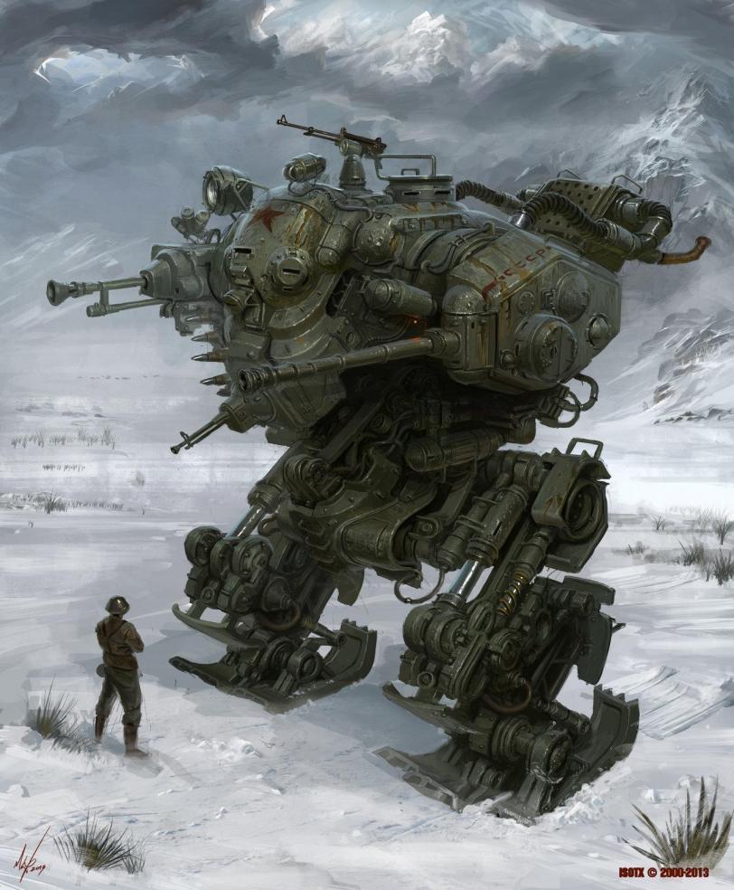 Красивые картинки Арт Sci-fi роботы мех