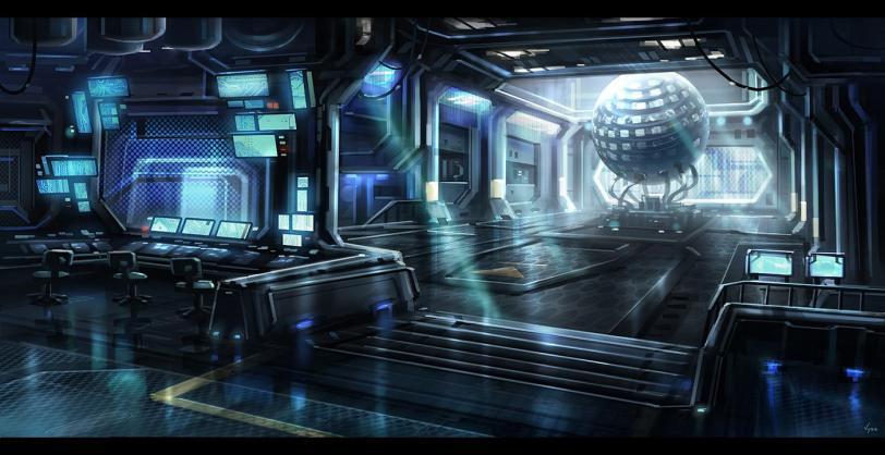 Арт Sci-fi Cyberpunk Киберпанк Мрачные картинки интерьер