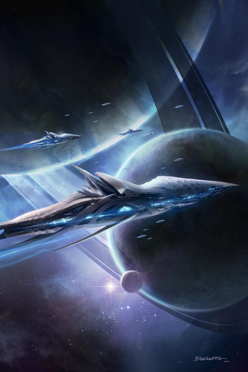 Красивые картинки Арт Sci-fi Космос alien