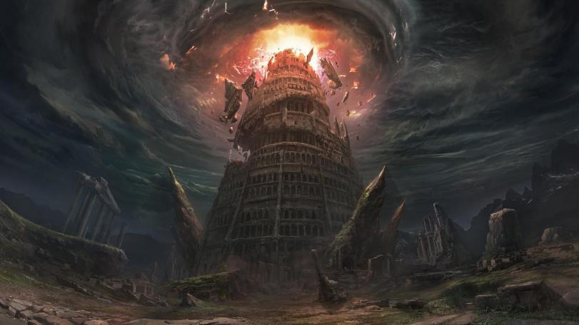 Арт Фэнтези Мрачные картинки Lineage Tower of Insolense King Baium