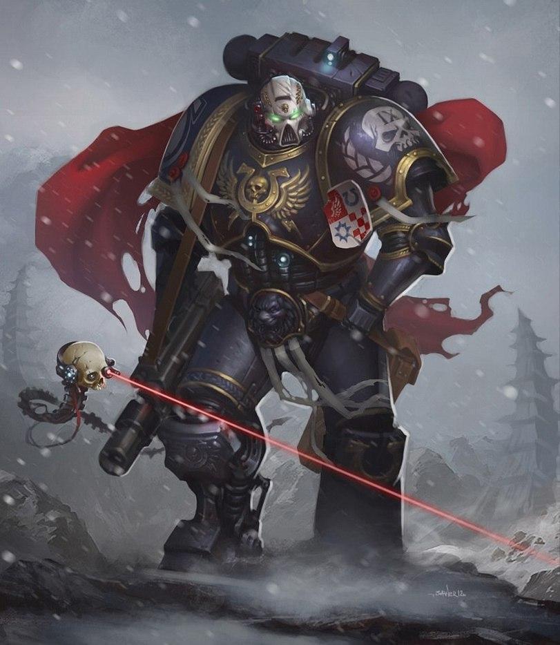 Красивые картинки Арт Warhammer 40K Ультрамарины