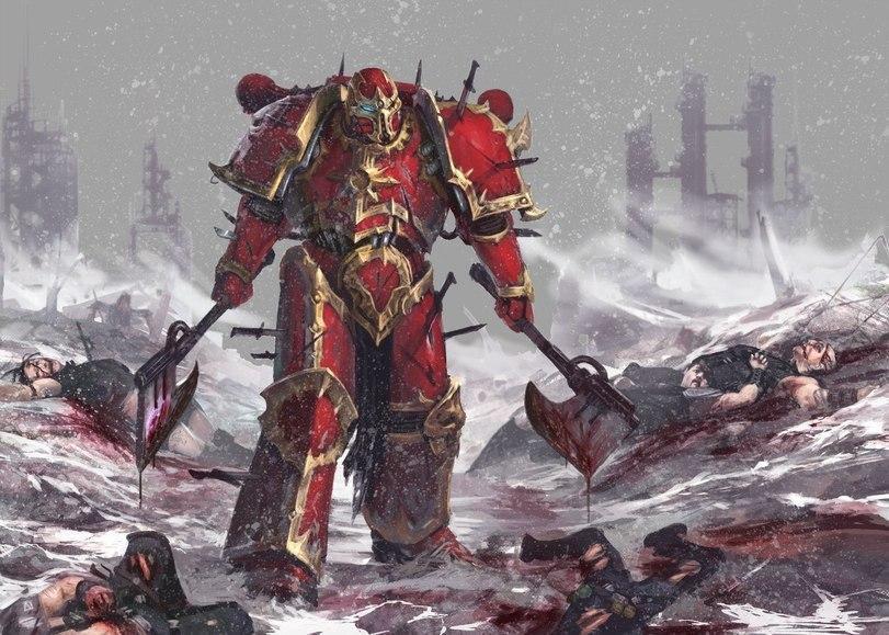 Красивые картинки Арт Warhammer 40K Space Marine