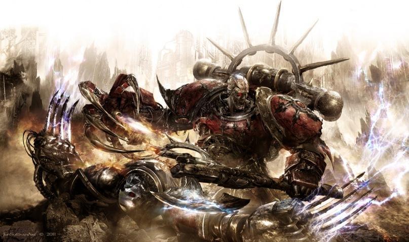 Красивые картинки Арт Warhammer 40K Гурон Черное Сердце Красиные Корсары