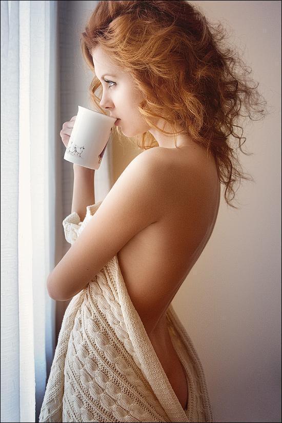 Красивые картинки Фото Девушка рыжая