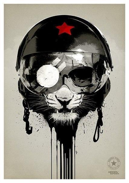 Арт Война Мрачные картинки СССР США Холодная война