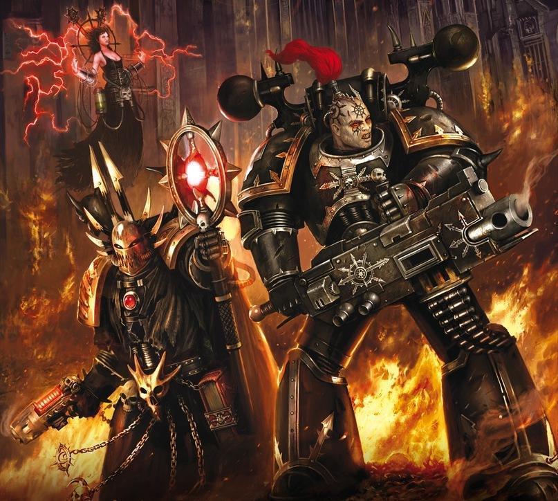 Красивые картинки Арт Warhammer 40K Черный Крестовый Поход РПГ