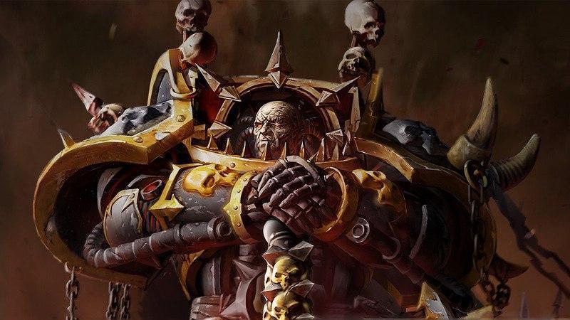 Красивые картинки Арт Warhammer 40K Аббадон