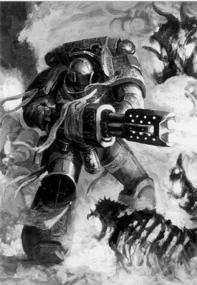 Warhammer 40K Серые рыцари