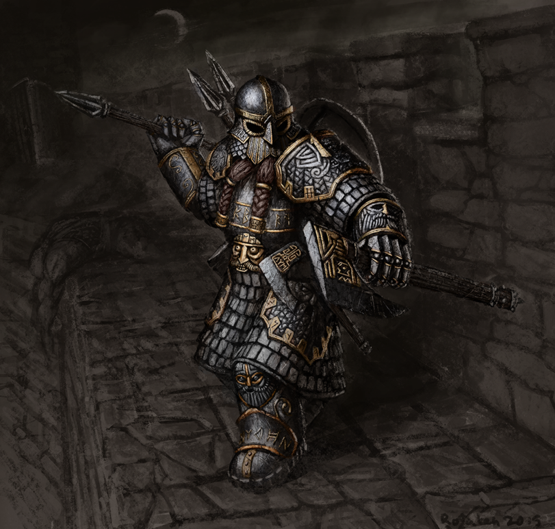 Красивые картинки Арт Дварф Warhammer FB