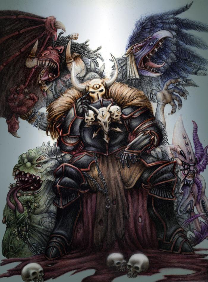 Красивые картинки Арт Warhammer FB Задумчивость Archeon