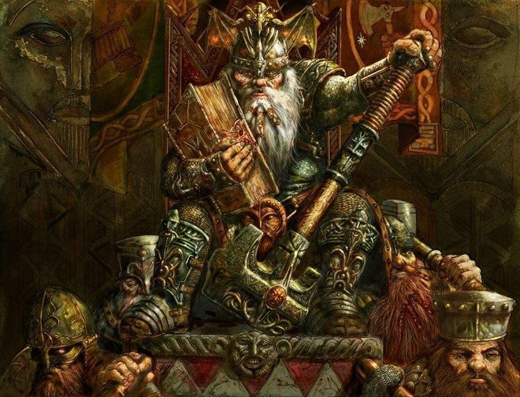 Красивые картинки Арт Дварф Warhammer Гном