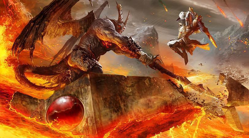 Красивые картинки Арт пафос и превозмогание демон Warhammer Fantasy Высшие эльфы