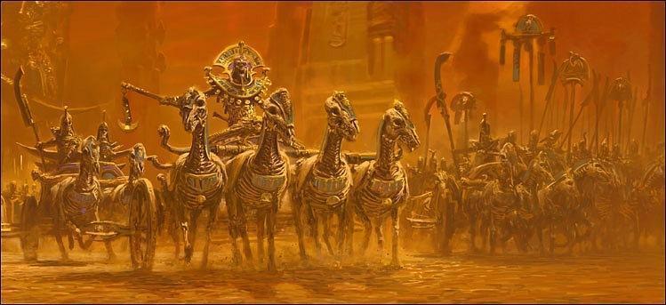Красивые картинки Арт Warhammer Fantasy Tomb Kings