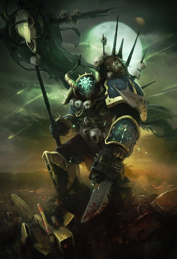 Красивые картинки Арт Warhammer 40K Хаос