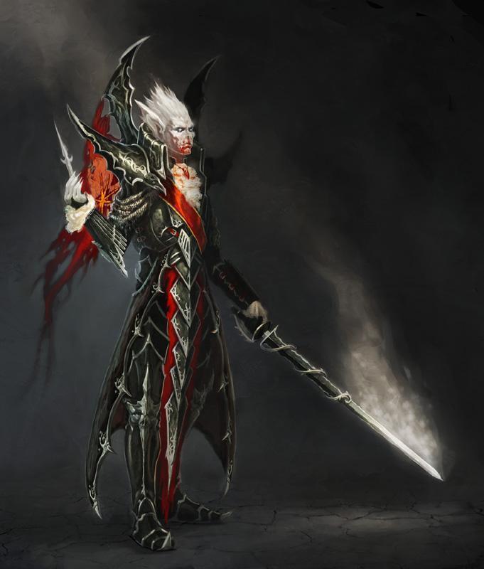 Красивые картинки Арт Warhammer Fantasy Вампир Vampire