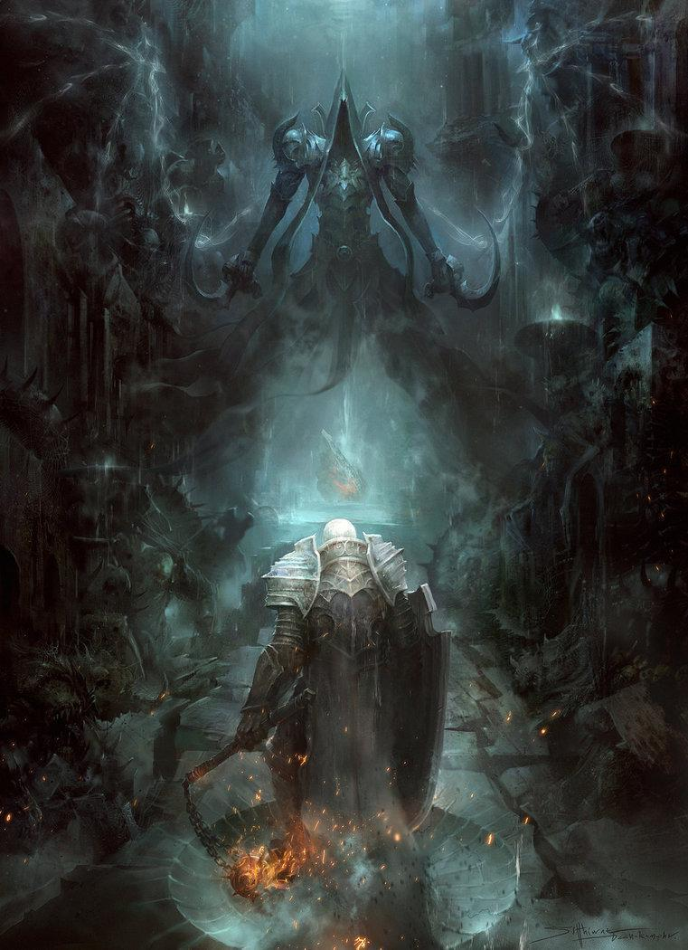 Красивые картинки Арт Мрачные картинки Diablo III