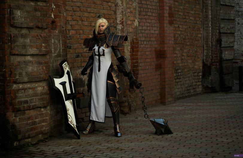 Красивые картинки Фото Девушка косплей Heroes of the Storm Johanna