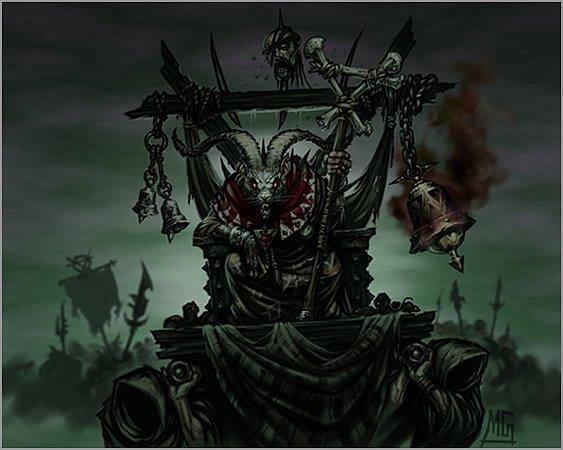 Арт Скавен Skavens Warhammer