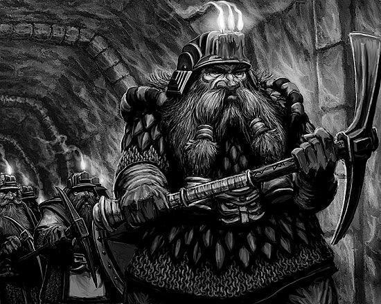 Красивые картинки Арт Дварф Warhammer Fantasy dwarf