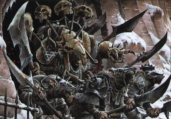 Красивые картинки Арт Skavens Warhammer