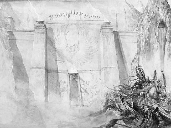Красивые картинки Арт Высшие эльфы Elves