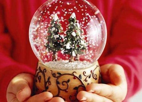 Рождество Снежный шар