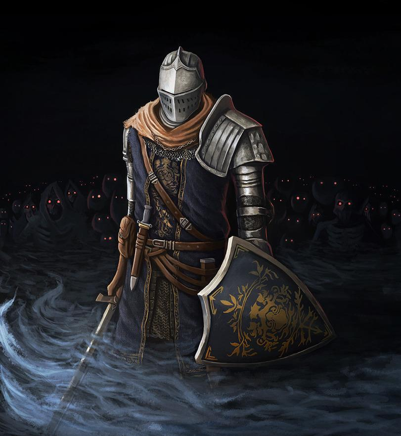 Арт Мрачные картинки рыцарь