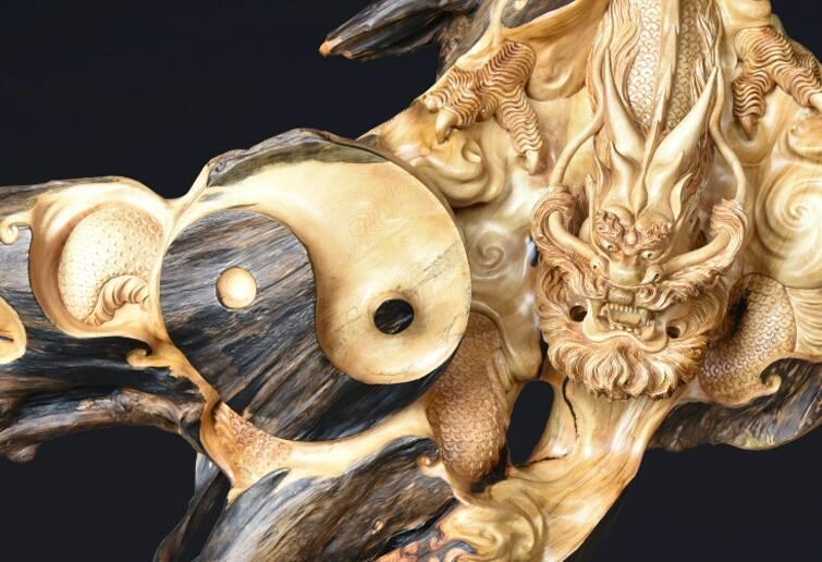 Красивые картинки прямые руки резьба по дереву дракон Китай