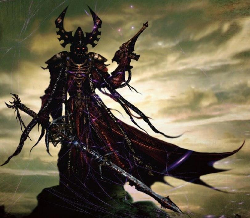 Красивые картинки Арт dark eldar  Warhammer Пафос