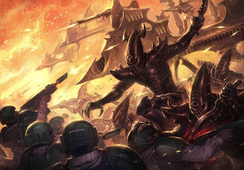 Красивые картинки Арт Warhammer темные эльфы