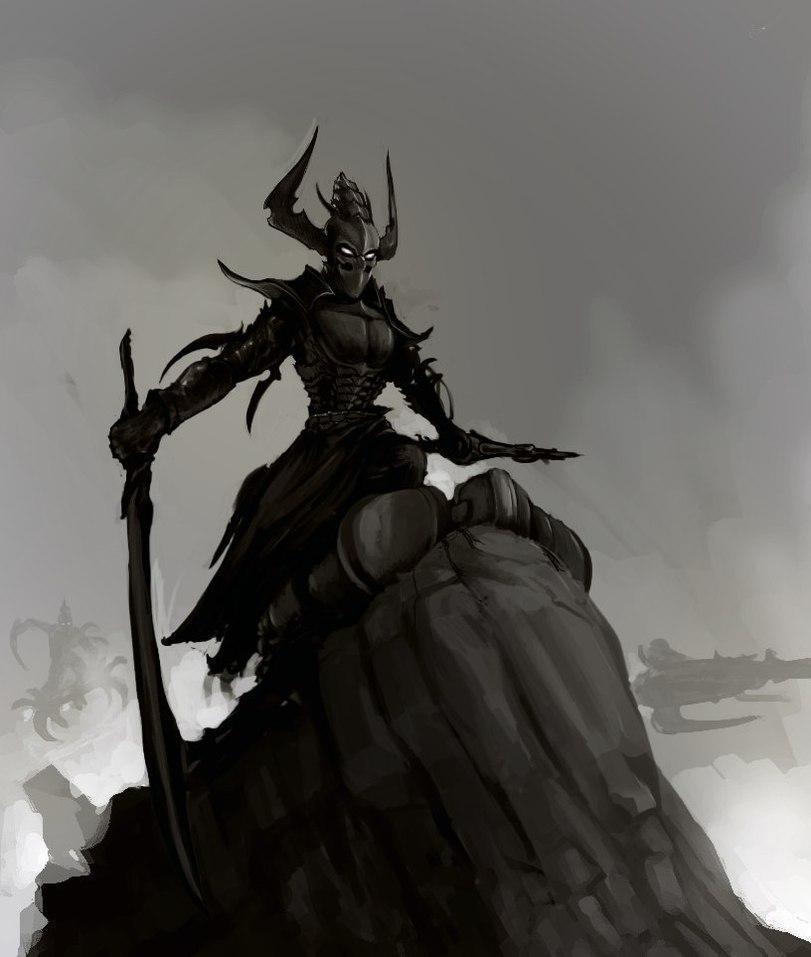 Красивые картинки Арт dark eldar  Warhammer темные эльфы