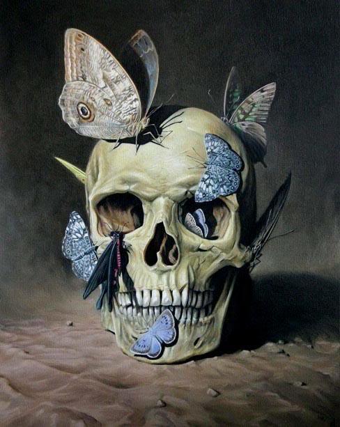 Арт Живопись Мрачные картинки vanitas
