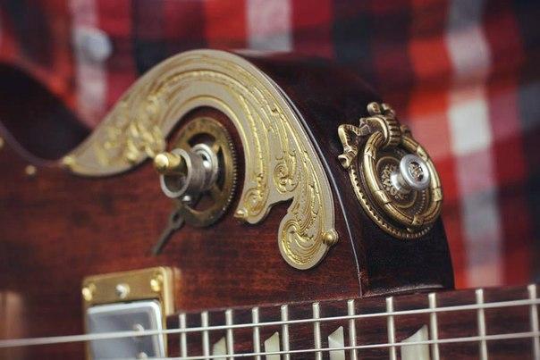 прямые руки Стимпанк гитара