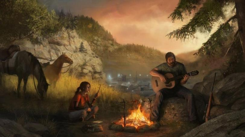 Красивые картинки Арт Постапокалипсис The Last of Us