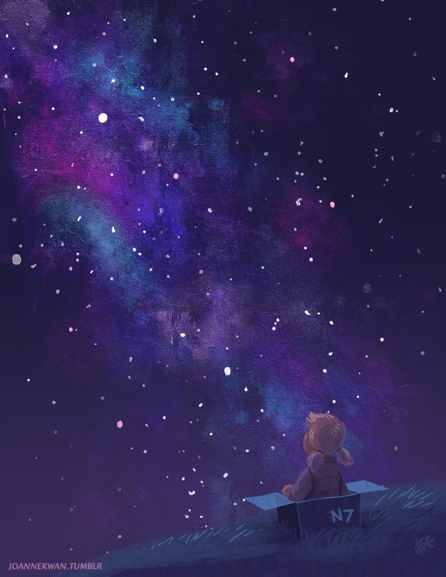 Красивые картинки Арт Sci-fi Mass Effect
