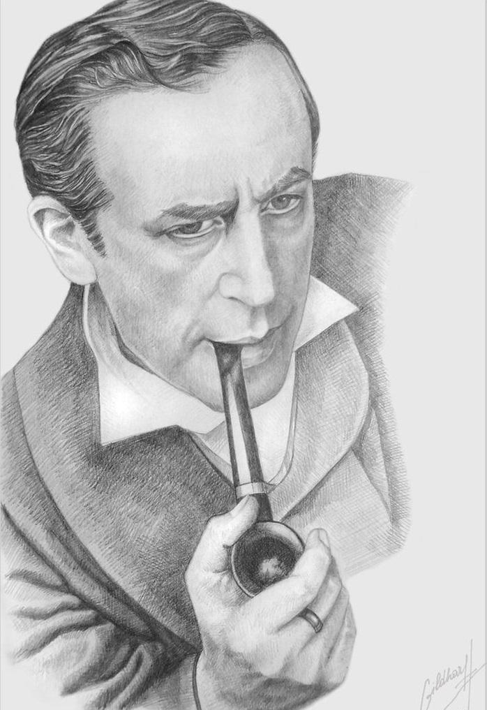 Красивые картинки Арт рисунок Шерлок Холмс Приключения Шерлока Холмса и доктора Ватсона