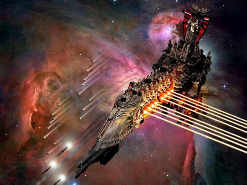 Красивые картинки Арт Космос Warhammer 40K