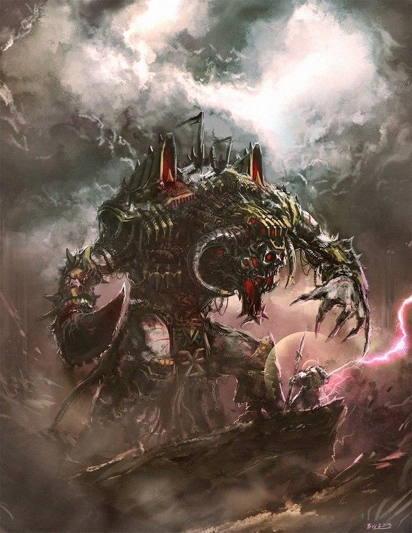 Красивые картинки Арт Warhammer 40K пафос и превозмогание Мрачные картинки
