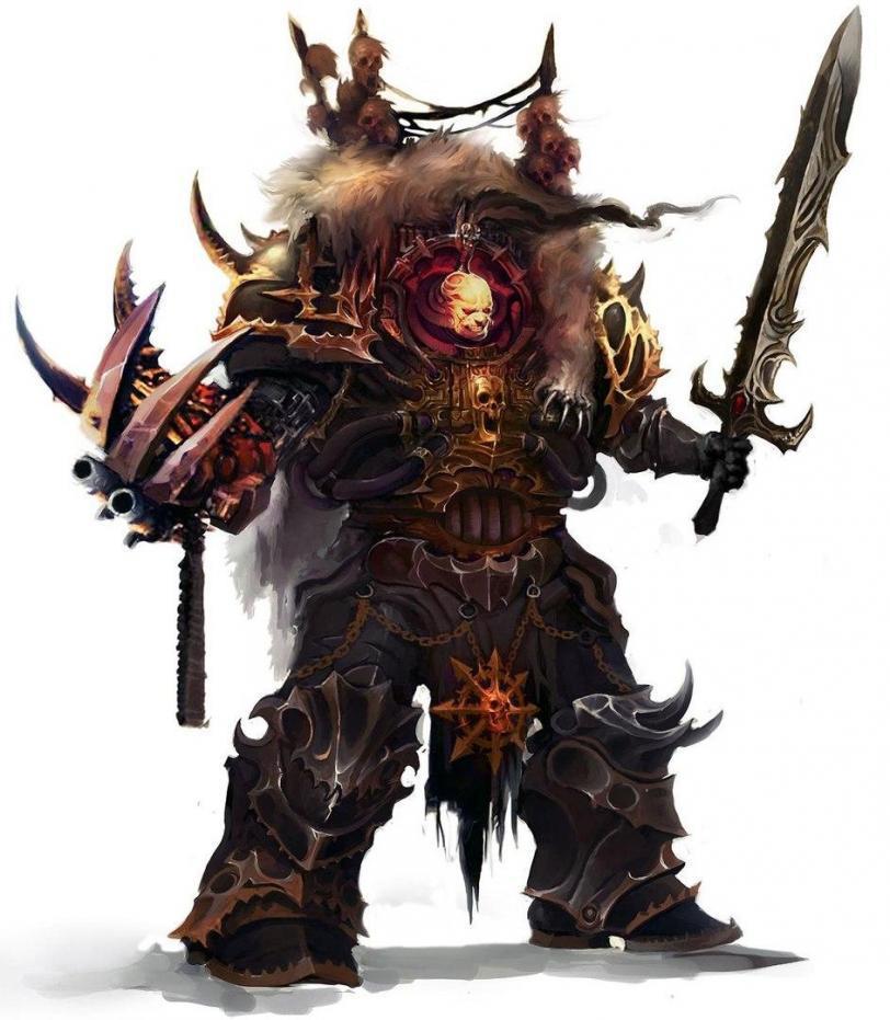 Красивые картинки Арт Warhammer 40K Chaos Хаос Пафос