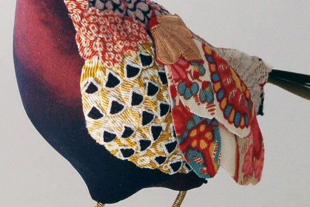 прямые руки птицы ткань