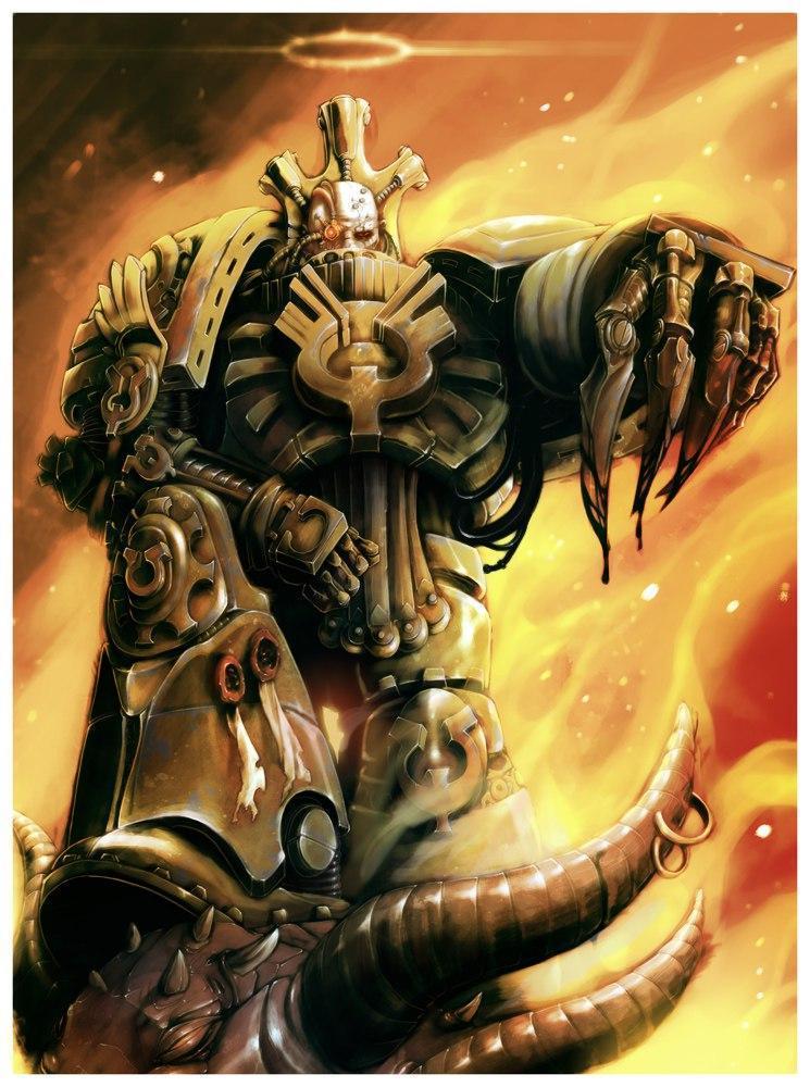 Красивые картинки Арт Warhammer 40K пафос и превозмогание Protus