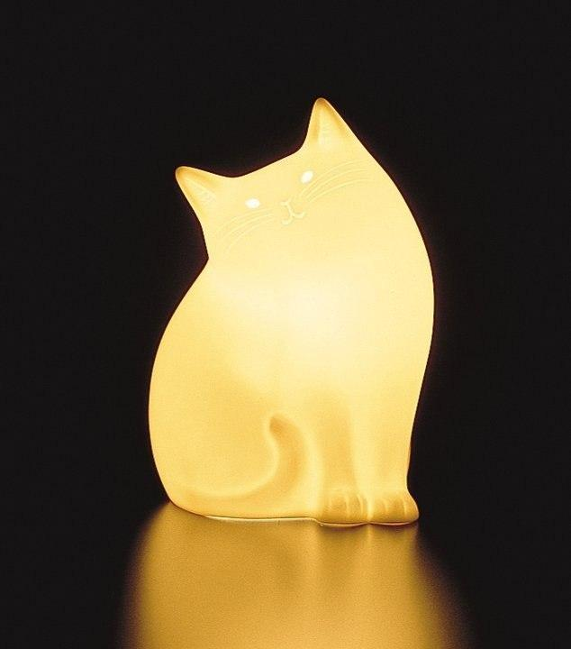 кот уют светильник