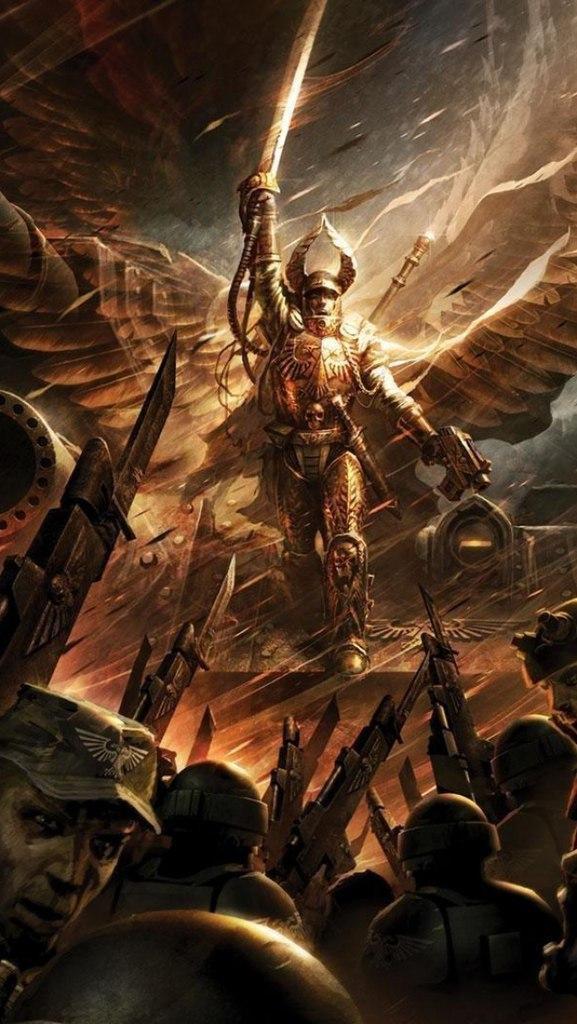 Warhammer 40K пафос и превозмогание