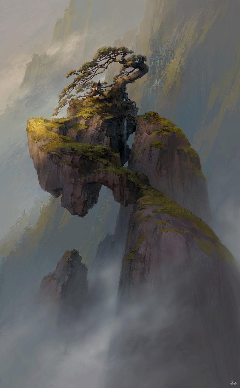 Арт Красивые картинки Фэнтези Природа