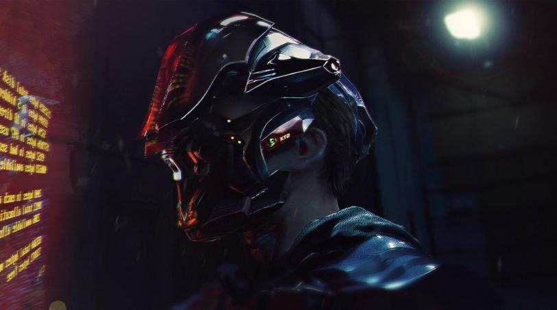 Арт Klaus Wittmann Sci-fi Cyberpunk Киберпанк
