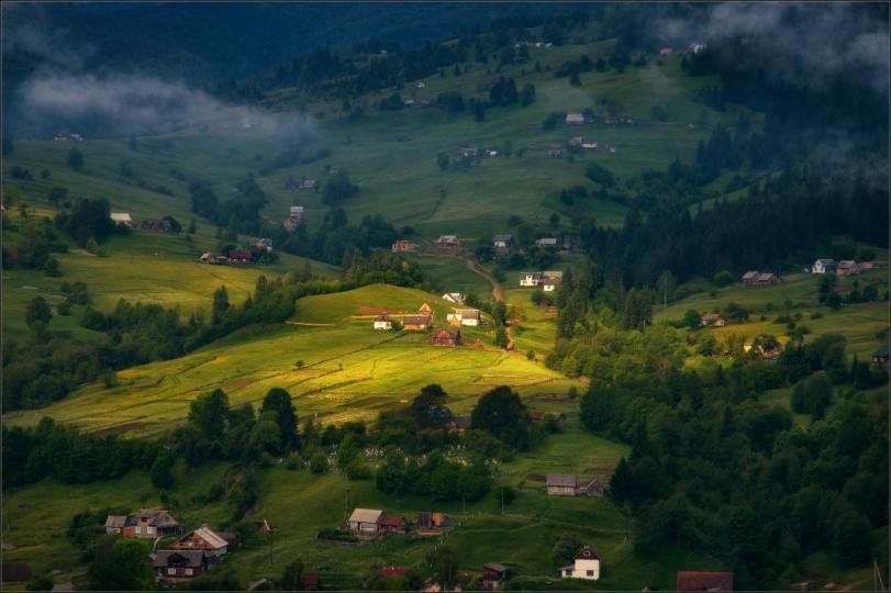 Фото Красивые картинки Природа деревня